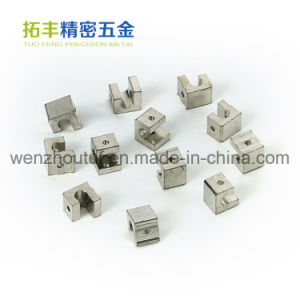 Brass Machined Parts Fabrication Service CNC Machining Brass Wire Terminal Connector pictures & photos
