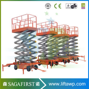 10m to 16m Driveable Full Electric Sky Lift Platforms pictures & photos