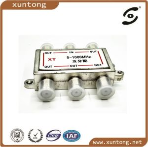 TV RF Coaxial Cable Splitter for CATV Signal pictures & photos