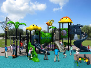 Kaiqi Medium Sized Futuristic Series Children′s Outdoor Playground (KQ50069A) pictures & photos