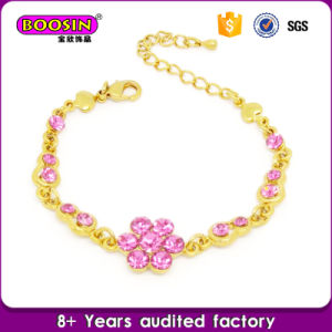 Kids Jewelry Sweet White Bowknot Pearl Bracelet pictures & photos