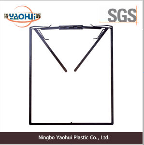 Thin Plastic Frame Cloth Hanger for Packing Shirt (29.5*24.5cm) pictures & photos
