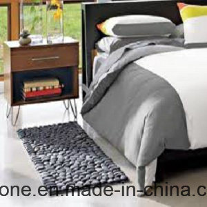 Black River Stone Hand Floor Stone Mat Price China Supplier pictures & photos