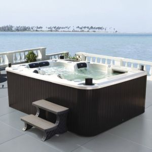 New Design High Class 5 Person 240V Outdoor Jacuzzi pictures & photos