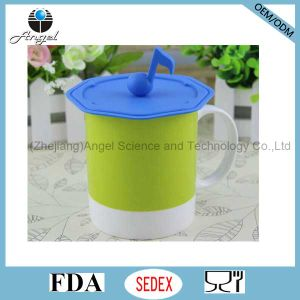 Musical Note Silicone Lid for Tea Cup Silicone Cover for Mug SL13