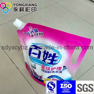 Customized Laundry Detergent Stand up Spout Packaging Bag pictures & photos
