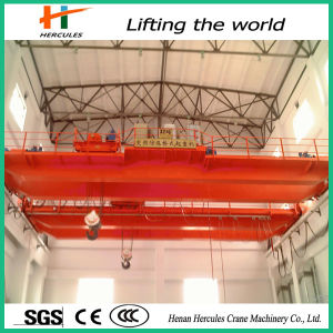 China Suppliers 50 Ton Double Girder Overhead Crane for Sale pictures & photos