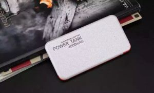 Built-in Cable Name Card Shape Power Bank 4000mAh pictures & photos