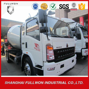 HOWO 4 Cubic / 6 Cubic Mini Concrete Mixer Truck pictures & photos