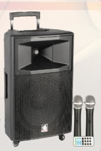 2X12′′ 2-Way Portable Battery Speaker PS-4212bt-Iwb pictures & photos