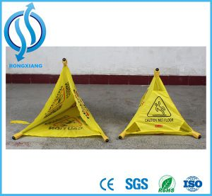 High Quality Roadway Retractable Reflective Umbrella Cone Safety Traffic Cone pictures & photos