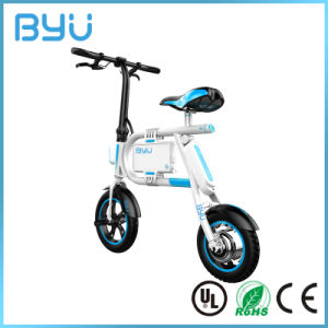 2016 Latest Mini Folding Foldable Electric Bicycle Electric Pocket Bike pictures & photos