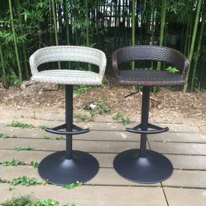Modern Outdoor Swivel Dining Garden Patio Rattan Bar Stool (FS-R002+FS-R003) pictures & photos
