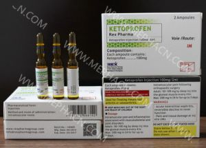 Finished Medicine Ketoprofen Injection pictures & photos