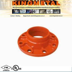 Fire Fighting Cast Iron Pipe Fitting Orange Flange Adaptor pictures & photos