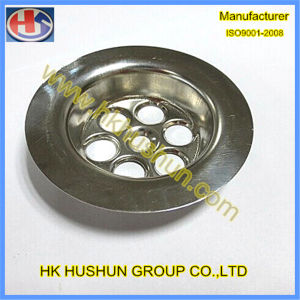 Customized Round Metal Stamping with Copper (HS-SM-0033) pictures & photos