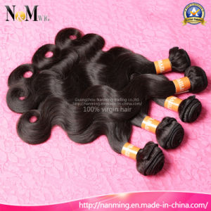 9A Grade Unprocessed Remy Human Hair Bundles Chinese Body Wave Wavy Virgin Hair pictures & photos