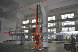 Mast Climbing Work Platform/Table Ce Certification pictures & photos