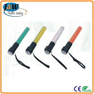 Multi-Function Plastic Colorful LED Flashing Traffic Baton pictures & photos