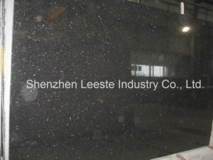 Top Quality Popular Polished Star Black Galaxy Granite on Sales pictures & photos