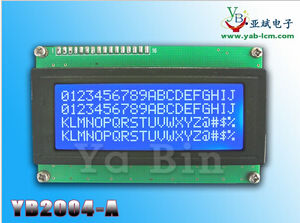 Yb2004c Character DOT Matrix LCD Screen