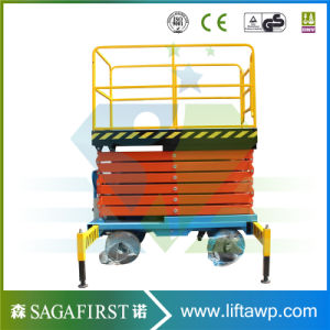 Hydraulic Lifter Self-Propelled Scissor Lifts Table Platform pictures & photos