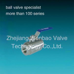 Wb-14 Stainless Steel 2PC High Pressure Ball Valve pictures & photos