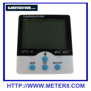 luminous temperature and humidity meter clock pictures & photos