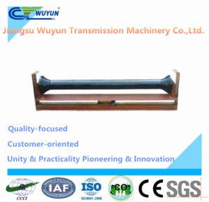 Upper Friction Flat Self-Aligning Idler Frame and Steel Roller Idler Conveyor Belt pictures & photos