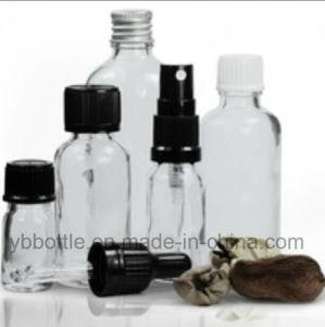 Clear European Dropper Glass Bottles Essencial Oil Bottles