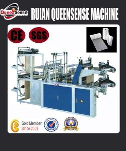 Rolling&Point Cutting Bag Making Machine pictures & photos