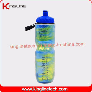 600ml double wall Plastic Sports Water Bottle with BPA Free pictures & photos