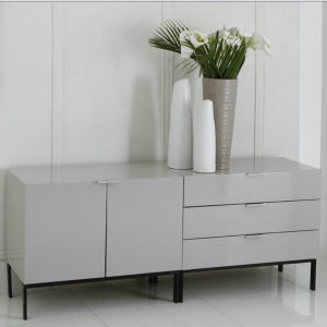 High Glossy White Dining Cabinet (D286)