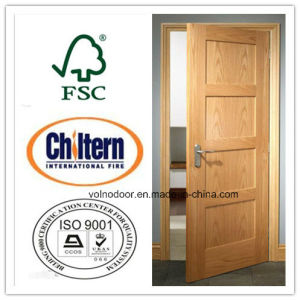 Solid Wood Door/ High Quatity Timber Door/ Wooden Swing Door pictures & photos