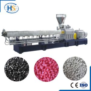 Co-Rotating Glass Fiber Plastic Compounding Machine for Making Granules pictures & photos