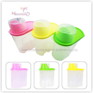 Food Grade Plastic Food Storage Box Grain Storage Containers pictures & photos