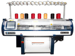 Fully Fashion Rib Knitting Machine with Variable Gauge