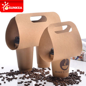 4 Cup Pulp Mould Cup Carrier, Coffee Cup Holders pictures & photos