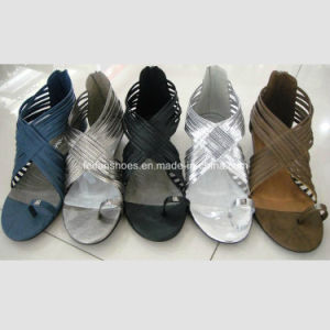 New Style Fashionable Lady Flat Shoes Women Sandals (OLY16314-36) pictures & photos