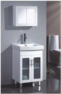 New Painting MDF Bathroom Vanity with Good Quality (SW-C600LG) pictures & photos