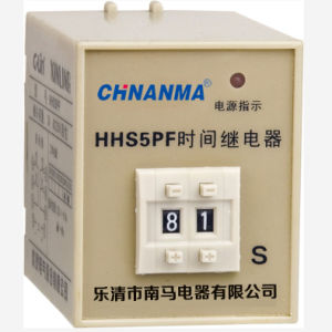 High-Brightness Double 4-Digit LED Display Intelligent Time Relay pictures & photos