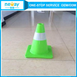 PVC Green Plastic Road Barrier pictures & photos