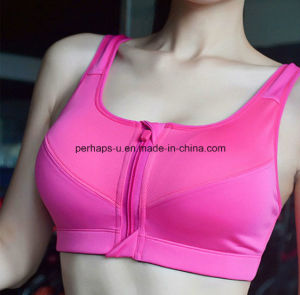 Fashion Pure Color Women Fitness Wear Sports Bra Yoga Wear pictures & photos