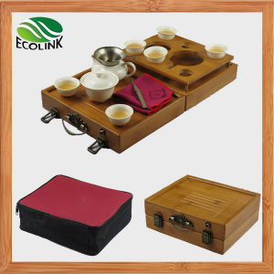 Portable Bamboo Tea Set /Travel Tea Set pictures & photos