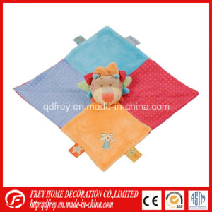 Plush Soft Toy Blanket of Lion for Baby Gift