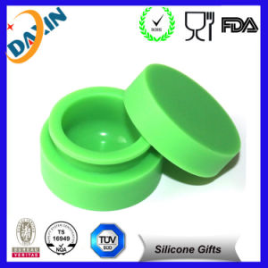 Fashiona Silicone Customized Bho Oil Container Silicone DAB Jars Container pictures & photos