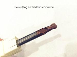 HRC55 Tungsten Carbide 2 Flutes Ball Nose End Mills pictures & photos