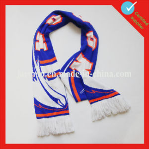 Custom Acrylic Cheering Footall Scarf pictures & photos
