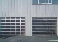 Top Quality Transparent Glass Panel Garage Door pictures & photos