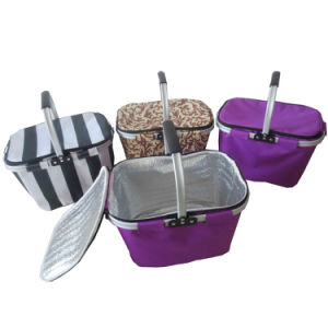 Foldable Storage Basket for Shopping (SP-312) pictures & photos